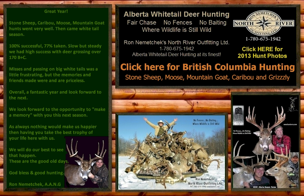 Whitetail Deer Hunting in Alberta